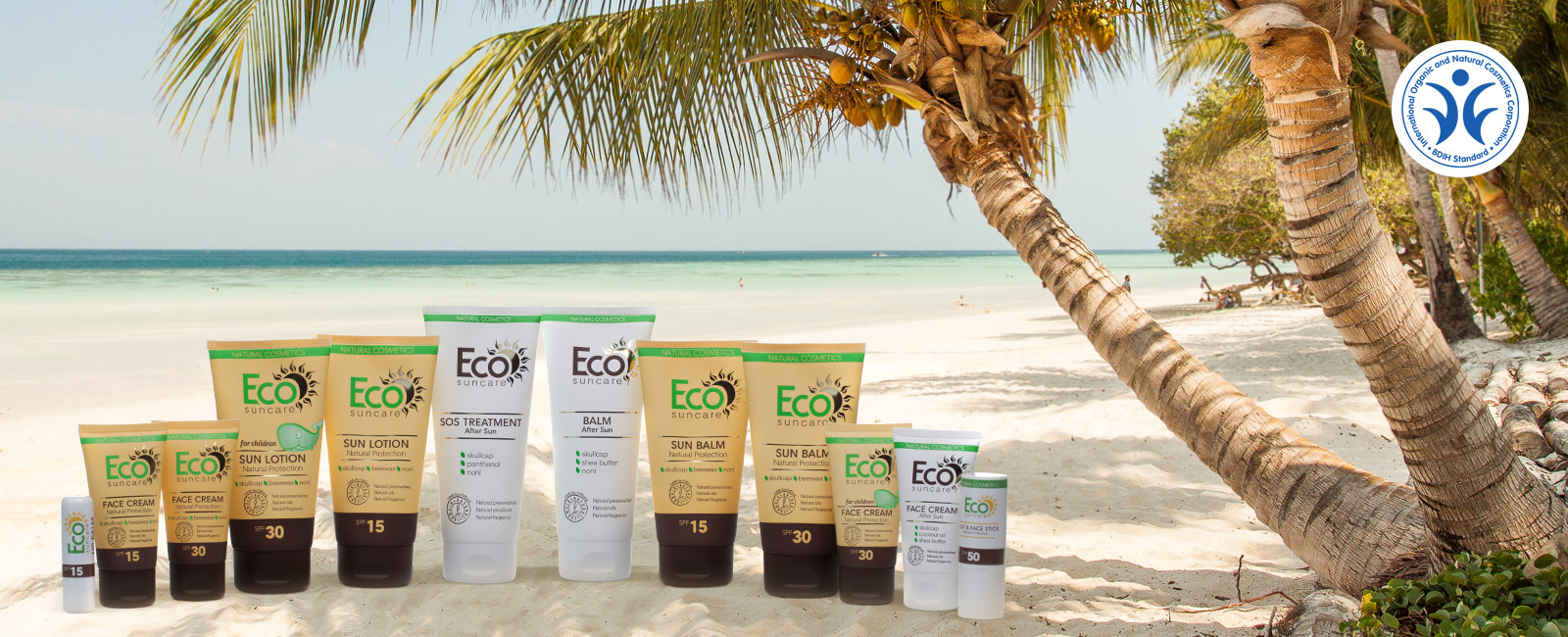 Eco SunCare natural cosmetics + free gift