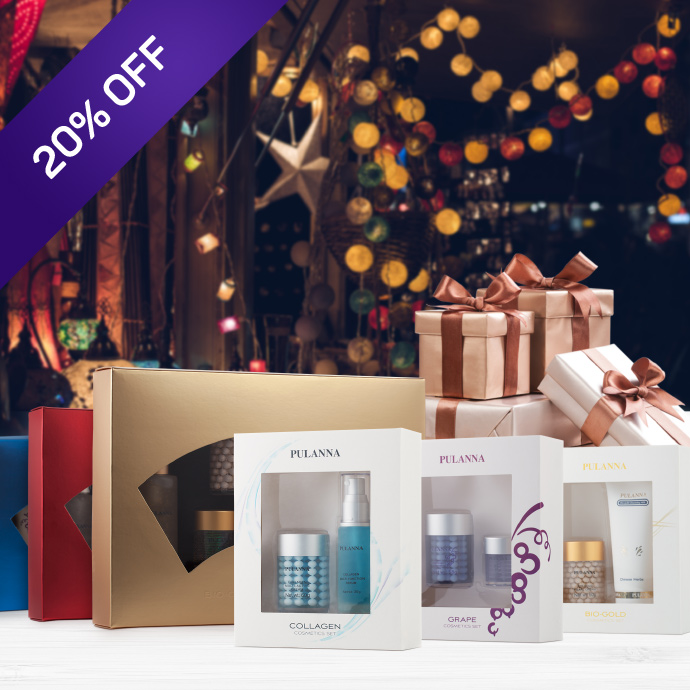 A good idea for a gift — 20% off our gift sets