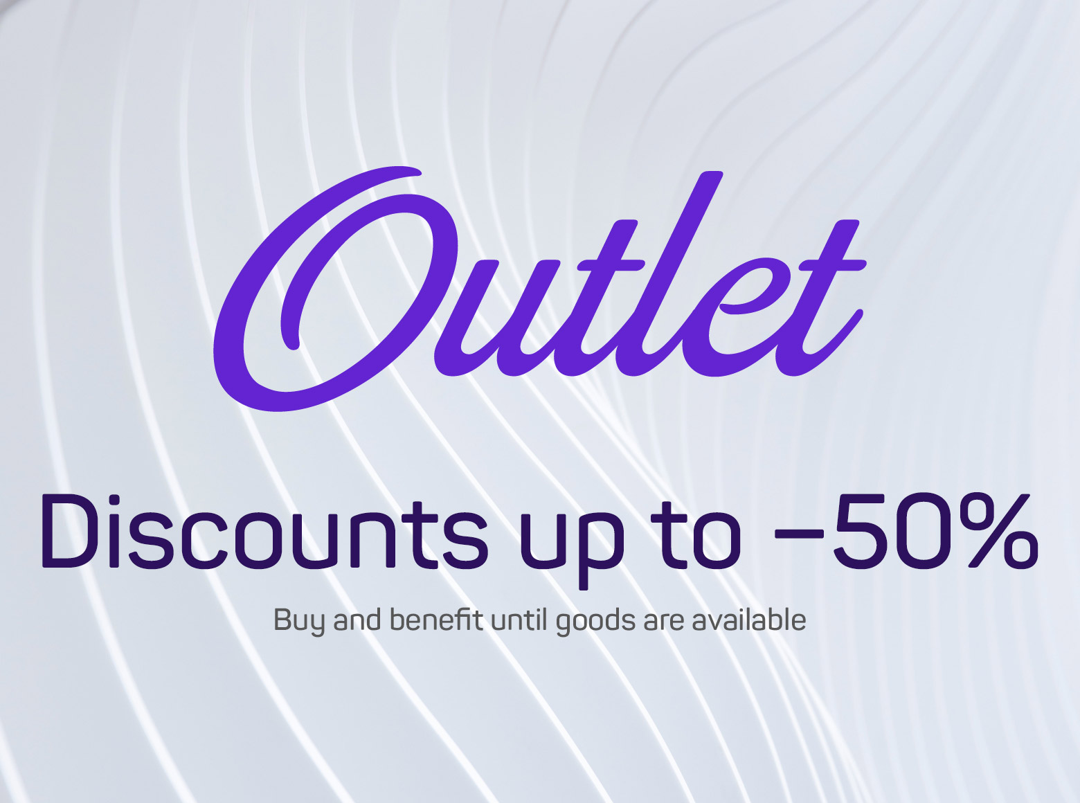 Discounts up to −50%